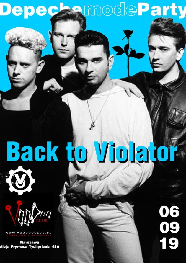 Depeche Mode Party – Back to Violator