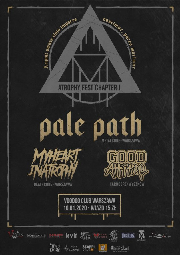 Pale Path▲My Heart In Atrophy▲Good Attitude▲10.01 Voodoo Club