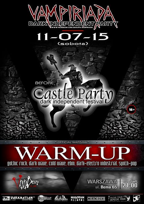 VAMPIRIADA – Before CASTLE PARTY 2015 – Official Warsaw WARM-UP