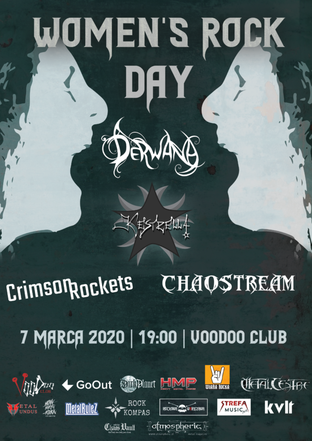 Women's Rock Day – KEstrella x Crimson Rockets x Chaostream x Derwana