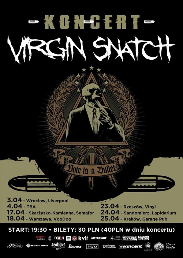 We are Underground: Virgin Snatch, Bright Ophidia, Pandrador – Warszawa