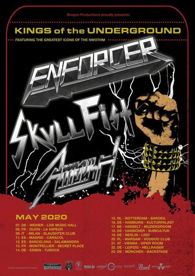 Enforcer / Skull Fist / Ambush / Warszawa / VooDoo / 20.05