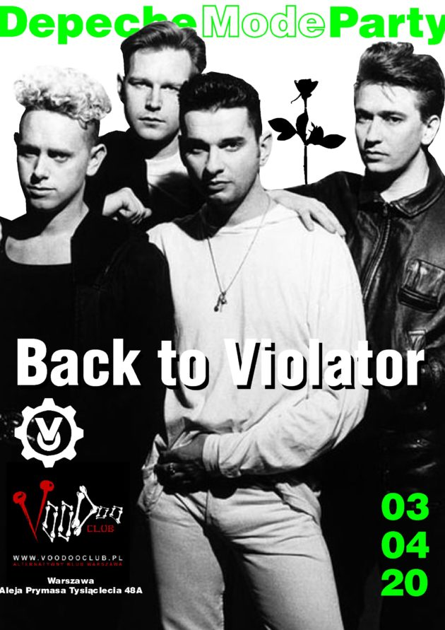 Depeche Mode Party – Back to Violator / 03.04 /