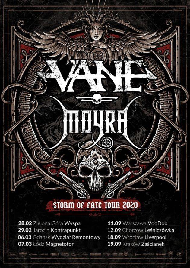 11.09 (piątek) Storm of Fate Tour 2020 – Vane x Moyra x The Burning Hands x Praise the Sun