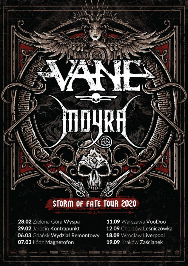Storm of Fate Tour 2020 – Vane x Moyra x The Burning Hands x Praise the Sun