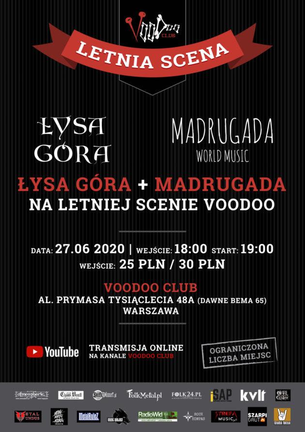 Łysa Góra & Madrugada World Music w VooDoo Club I 27.06 I