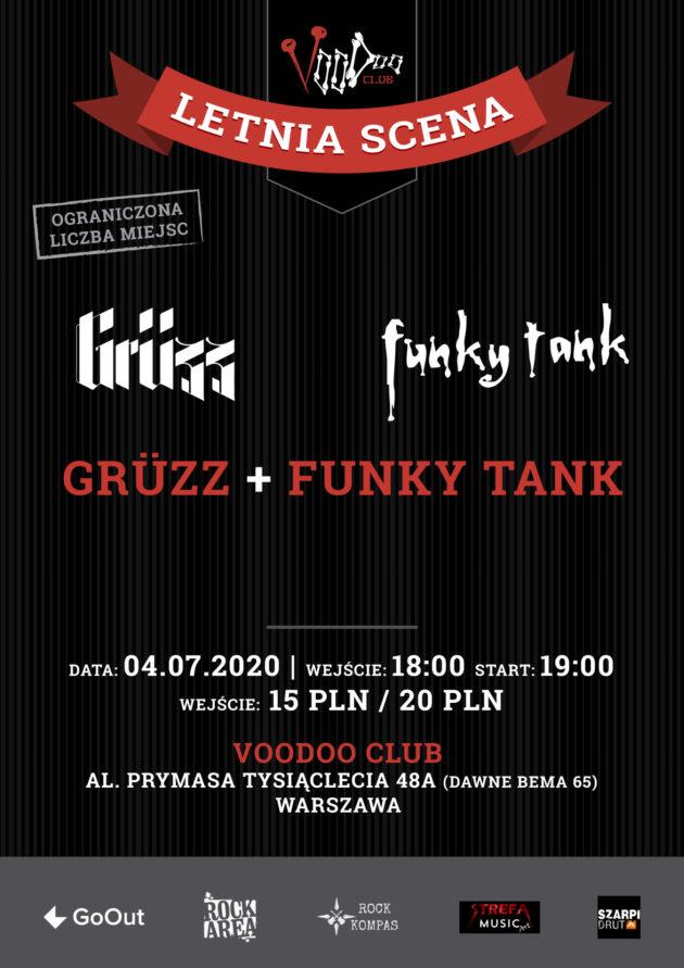 Grüzz i Funky Tank na Letniej Scenie VooDoo