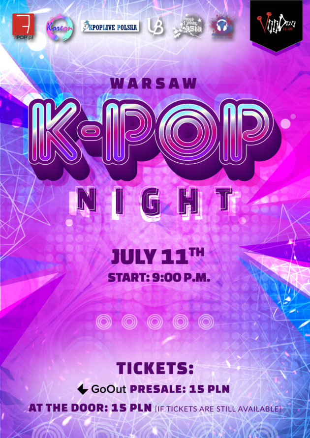 Warsaw K-POP night at VooDoo Club / 11.07 /