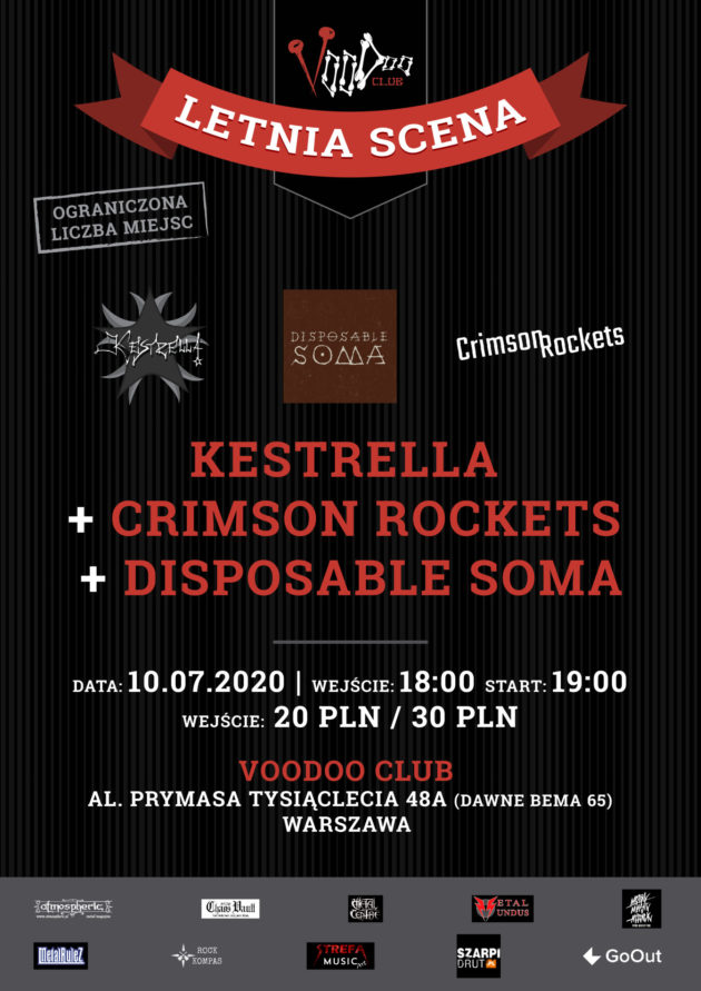 Kestrella x Crimson Rockets x Disposable Soma na Letniej Scenie VooDoo
