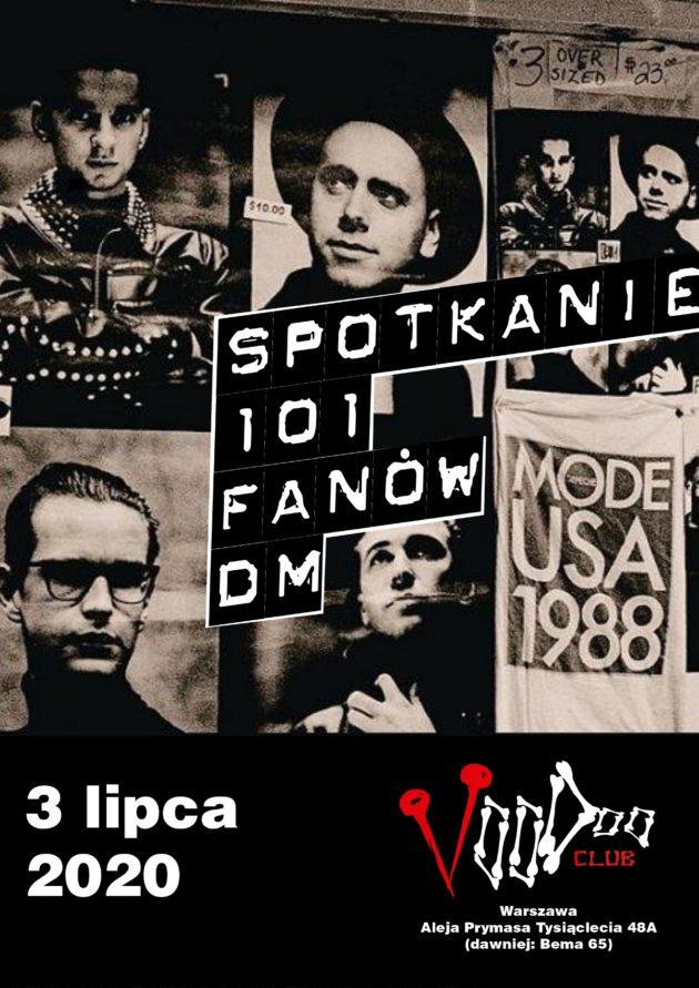 Spotkanie 101 FANÓW DM w VooDoo Club