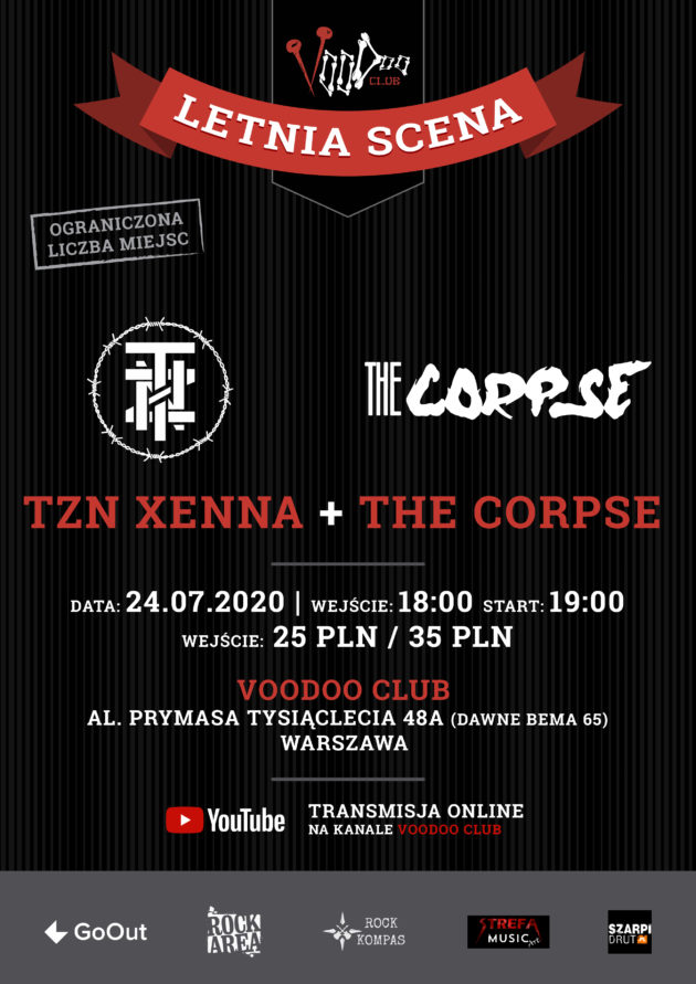 TZN Xenna i The Corpse na Letniej Scenie VooDoo