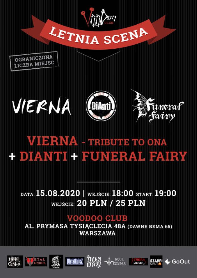 Vierna – Tribute to O.N.A, Dianti, Funeral Fairy – LetniaScena VooDoo