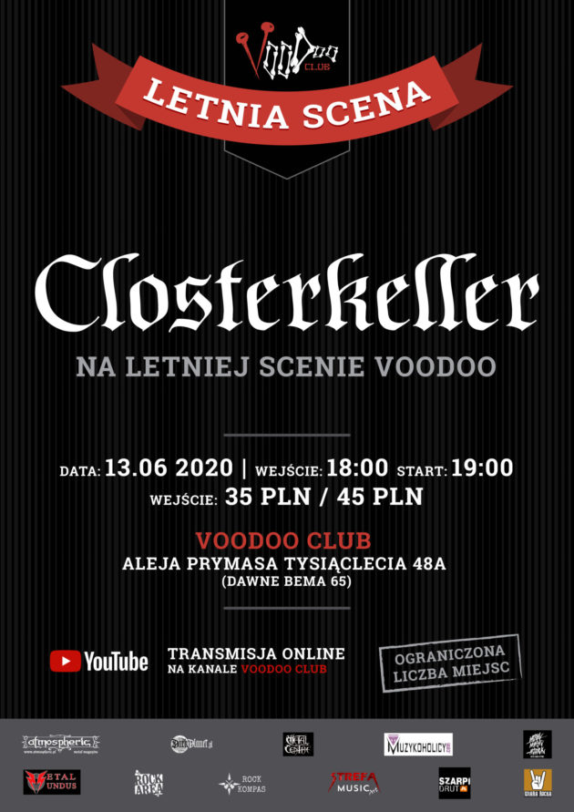 Closterkeller w VooDoo Club I 13.06 I