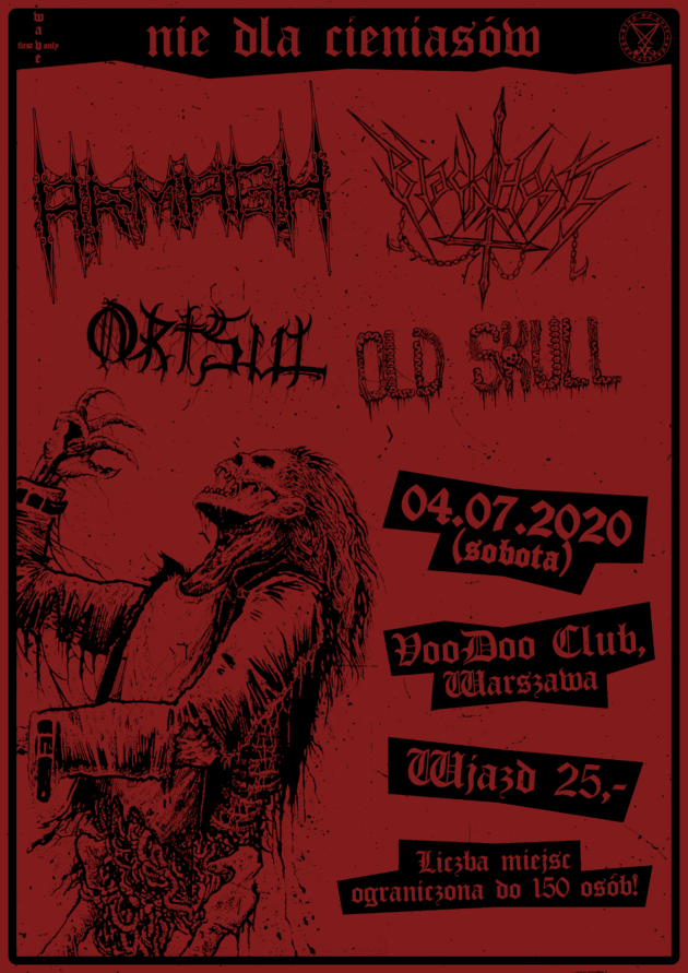 Armagh x Black Hosts x Ortsul x Old Skull w Voodoo Club