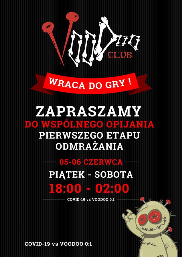 Piwko w VooDoo na czas walki z Covid-19 / 05-06. 06 /