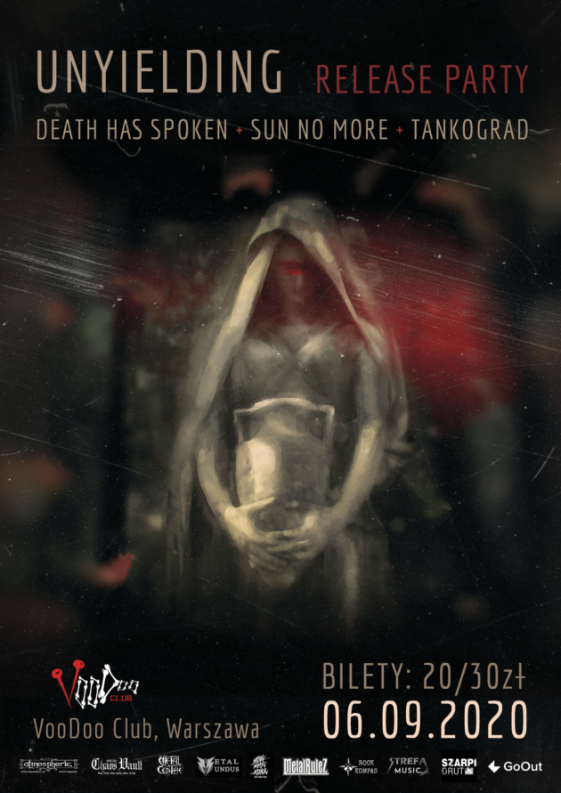 """Unyielding"" release party: Tankograd x Sun No More x Death Has Spoken w VooDoo Club"