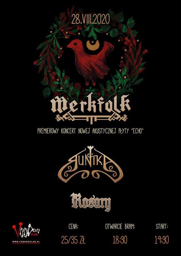 """Folk Metal Night – Premiera płyty """"Echo"""" zespołu Merkfolk – Runika – Rosary"""