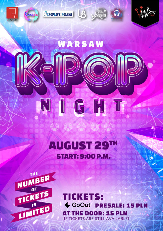 Warsaw K-POP night at VooDoo Club / 29.08 /