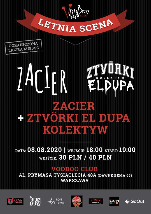 Zacier & Ztvörki El Dupa Kolektyw na Letniej Scenie VooDoo