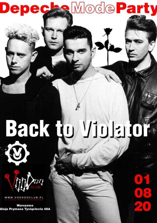 Depeche Mode Party – Back to Violator / 01.08 /