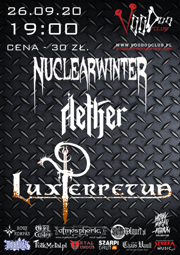Lux Perpetua x Aether x NuclearwinteR / 26.09 /