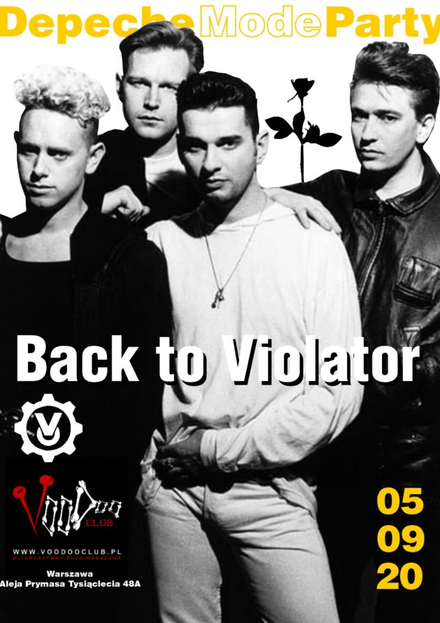 Depeche Mode Party – Back to Violator / 05.09 /
