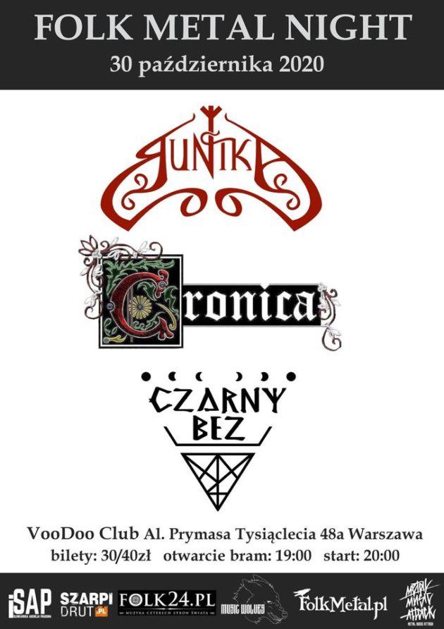 Folk Metal Night (edycja Dziady) – Runika, Cronica, Czarny Bez