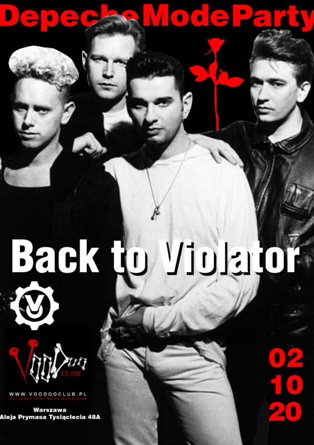 Depeche Mode Party – Back to Violator / 02.10 /