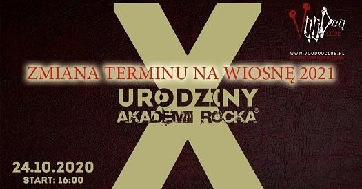 X urodziny Akademii Rocka w VooDoo Club