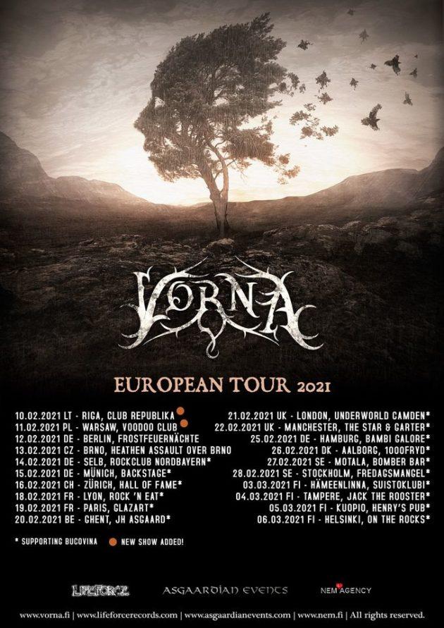 Vorna (FI), Morhana & Support – Warszawa