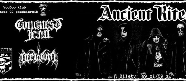 Ancient Rites x Conquest Icon x Occultum x Luctus w Warszawie