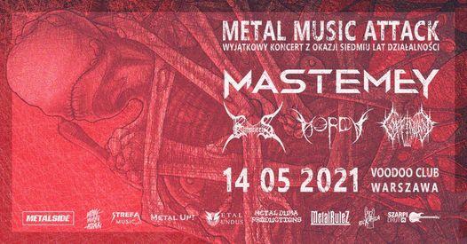 7-lecie Metal Music Attack w Warszawie : Mastemey x Horda x Empheris x Coffinwood