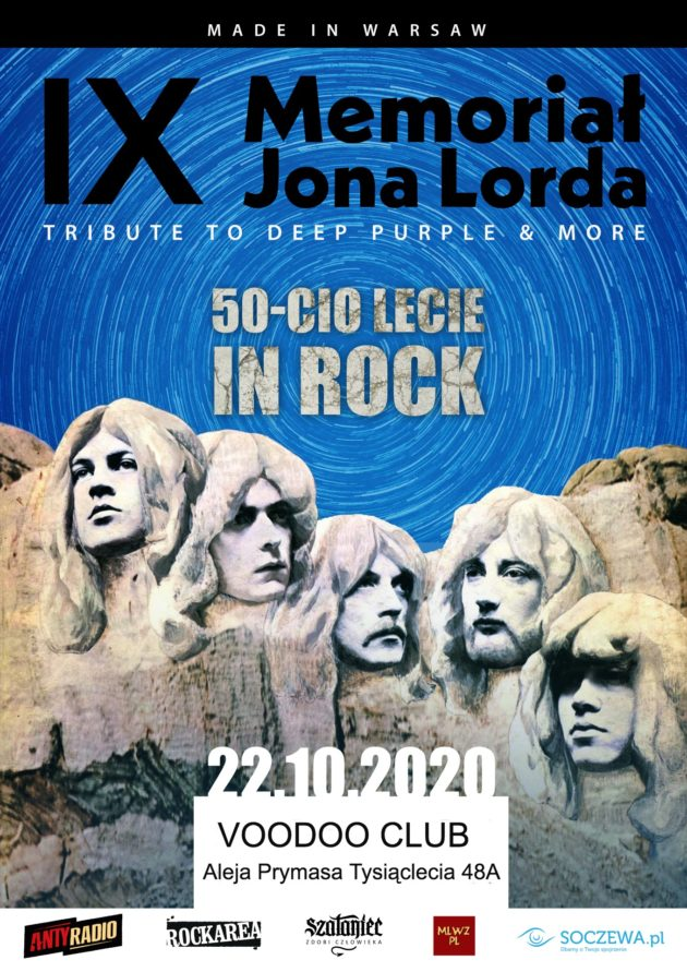 IX Memoriał Jona Lorda – Tribute to Deep Purple & more