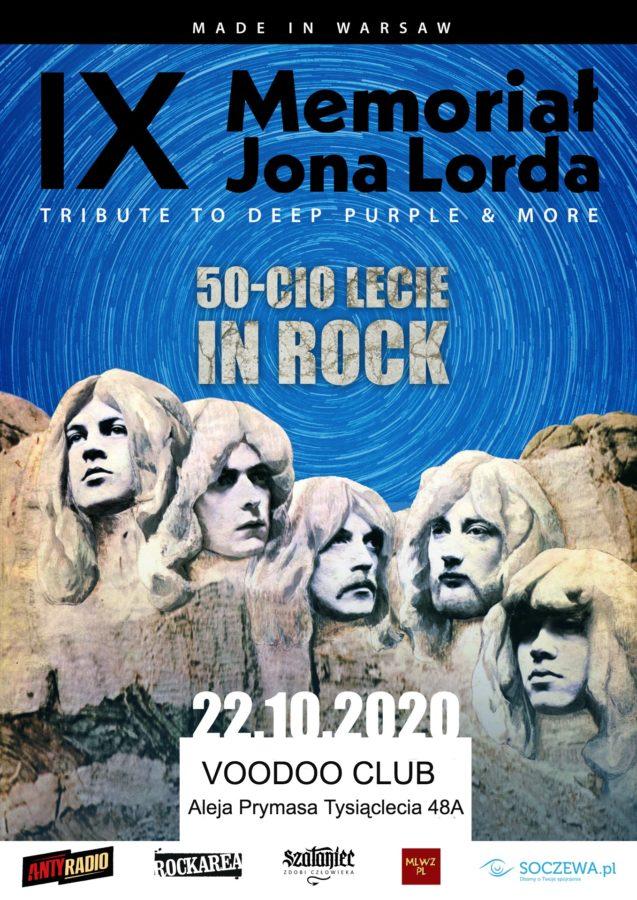 IX Memoriał Jona Lorda - Tribute to Deep Purple & more - VooDoo Club