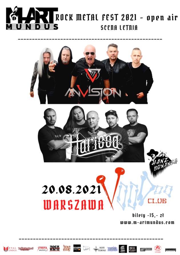 M-Art Mundus Rock Metal Fest – On Air / Letnia Scena VooDoo / 20.08 /