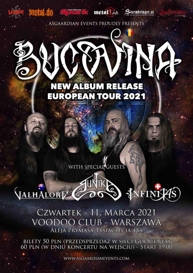 Bucovina Album Release Tour – Warsaw [ Bucovina x Valhalore x Infinitas x Runika ]
