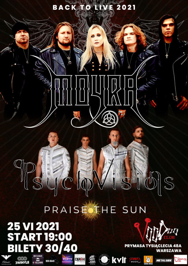 Psycho Visions x Moyra x Praise The Sun / 25.06 /