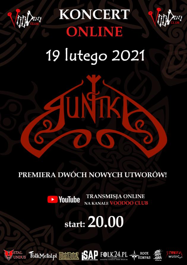 ᛉ Runika koncert online ᛉ / 19.02 /