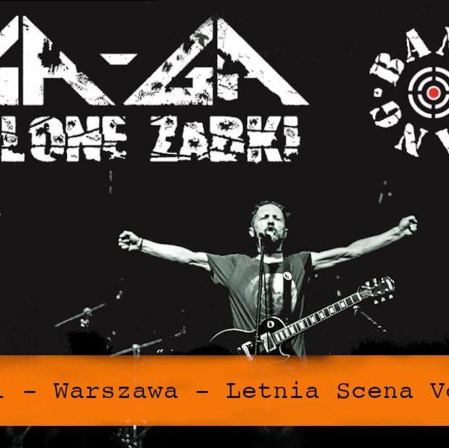 Ga-Ga / Zielone Żabki x Bang Bang na Letniej Scenie VooDoo Club / 06.06 /