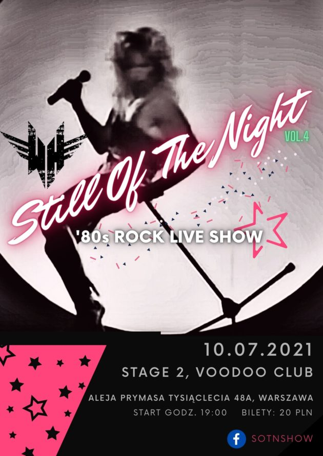 Still Of The Night vol.4 – Warszawa – VooDoo Club / 10.07 /