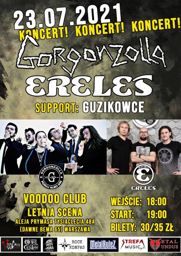 Gorgonzolla x ERELES x Guzikowce na Letniej Scenie VooDoo / 23.07 /