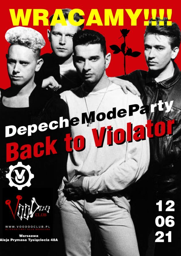 Depeche Mode Party – Back To The Violator / 12.06 /