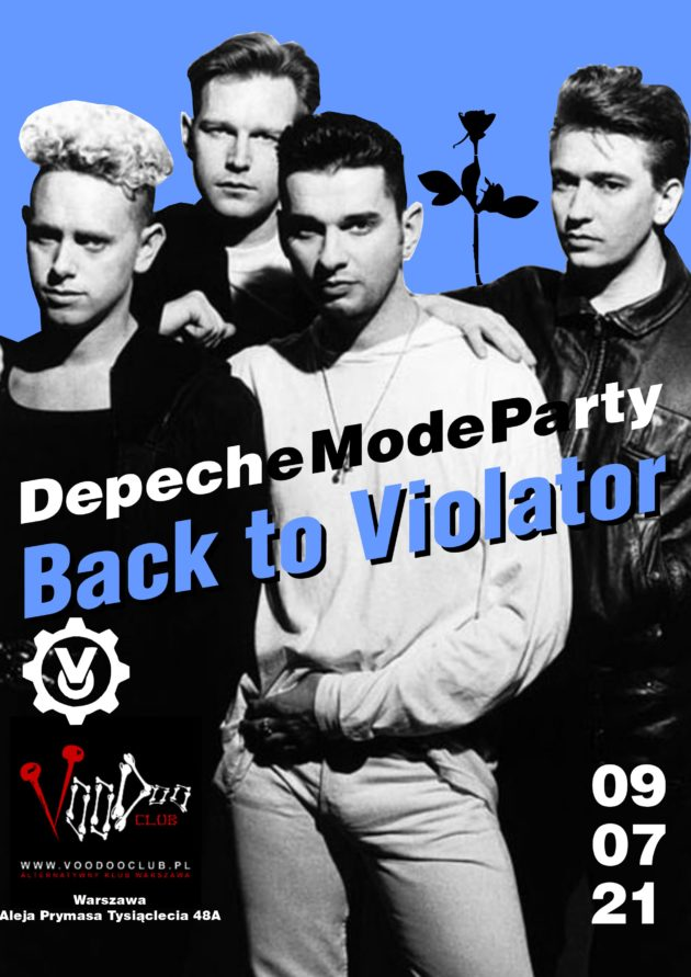 Depeche Mode Party – Back to Violator / 09.07 /