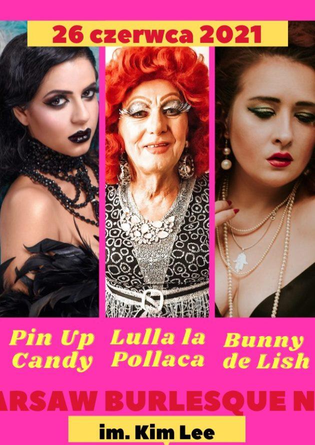 Warsaw Burlesque Night – Burlesque&Drag / 26.06 /