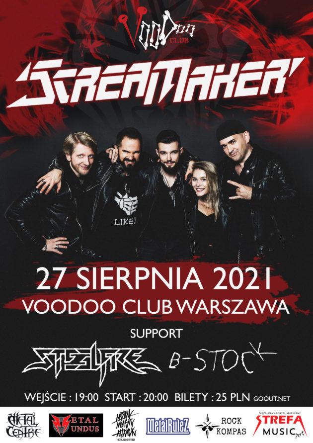 Scream Maker x SteelFire x B-Stock w VooDoo Club / 27.08 /