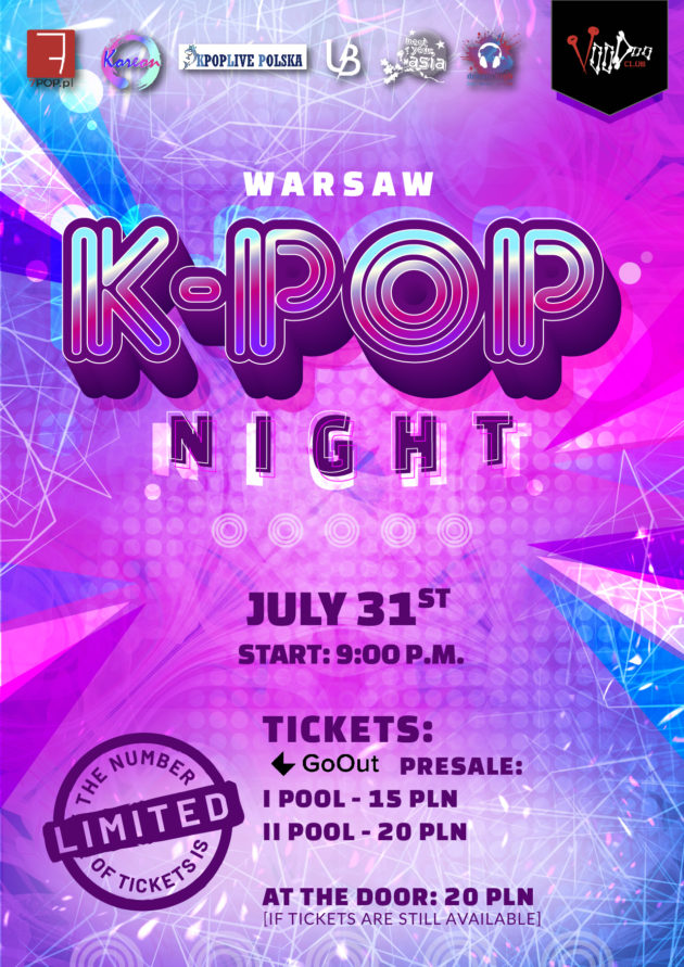 Warsaw K-POP night at VooDoo Club / 31.07 /