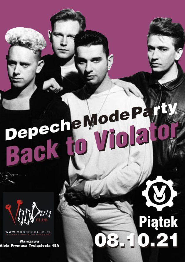 Depeche Mode Party – Back to Violator / 08.10 /