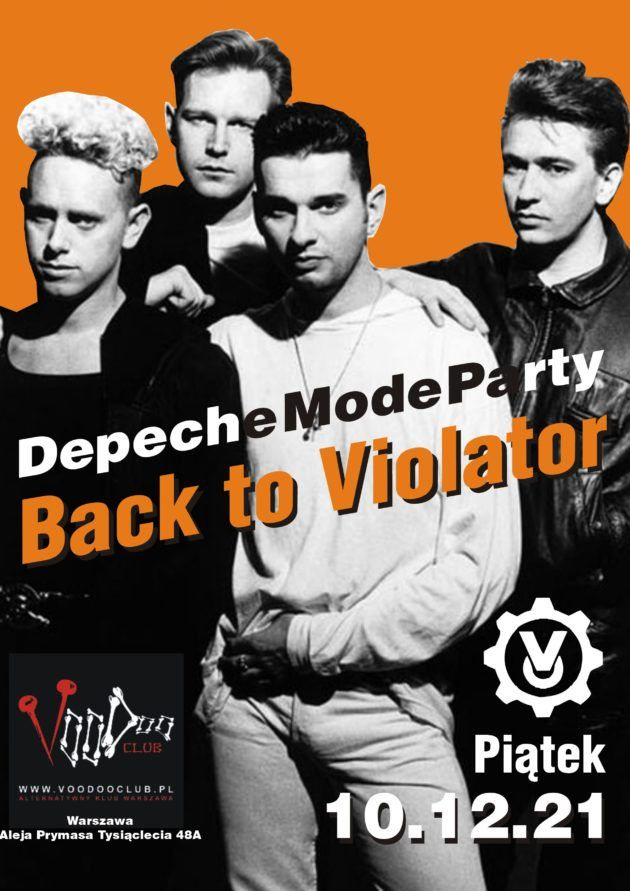 Depeche Mode Party – Back to Violator / 10.12 /
