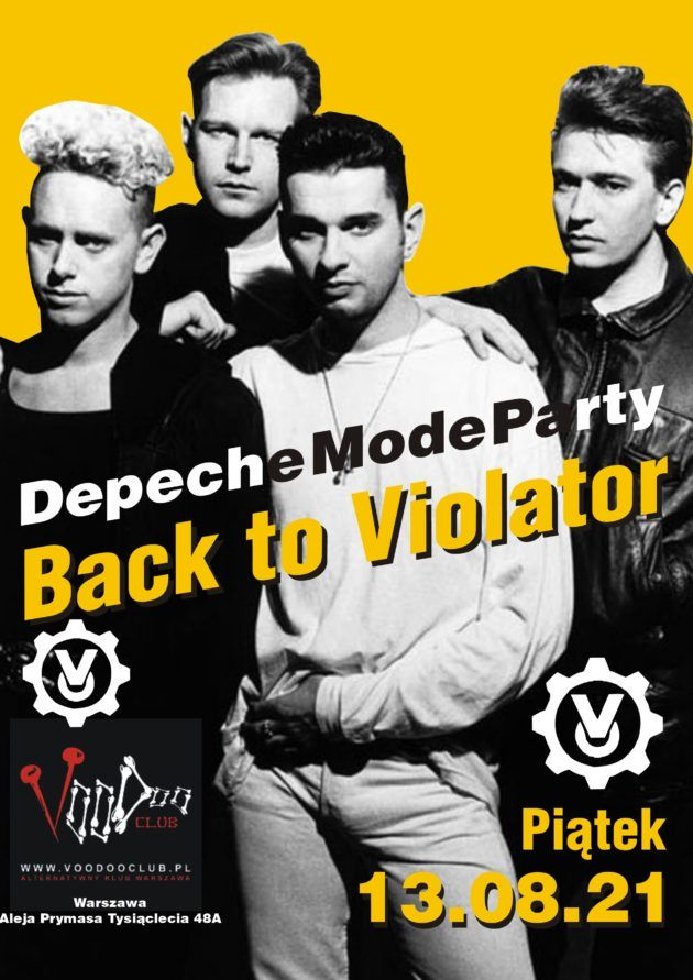 Depeche Mode Party – Back to Violator / 13.08 /