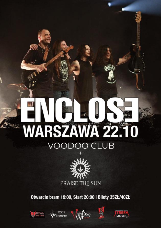 Enclose x Praise The Sun w VooDoo Club / 22.10 /